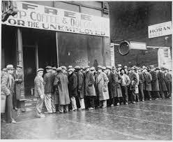 disoccupati anni 30