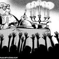 Rapporto Oxfam. Diseguaglianze: circa metà della ricchezza mondiale nelle mani dell'1% della popolazione