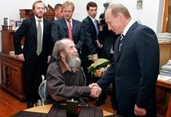 Putin con Soljenytsin
