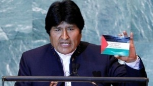Evo Morales-Palestina