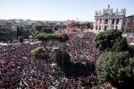 Gli straordinari: CGIL, oltre un milione in piazza aRoma