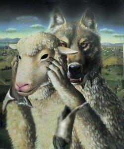 lupi travestiti da pecore