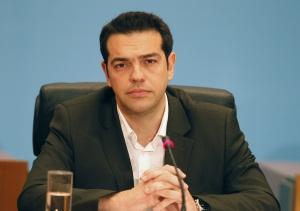 EL LÍDER DEL PARTIDO IZQUIERDISTA GRIEGO, ALEXIS TSIPRAS