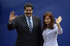Maduro-y-cristina