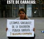 """Venezuela: la """"pacifica protesta"""" dei quartieri bene delle città (Video efoto)"""