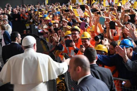 Papa Francesco: Il discorso sul lavoro all'Ilva diGenova