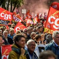 La Francia in sciopero