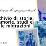 """Mille e una storia di migrazioni. Pubblicato da Filef l'Archivio digitale """"Scrivere lemigrazioni"""""""