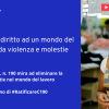 Italia primo paese europeo a ratificare la Convenzione Ilo su eliminazione di violenza e molestie sullavoro